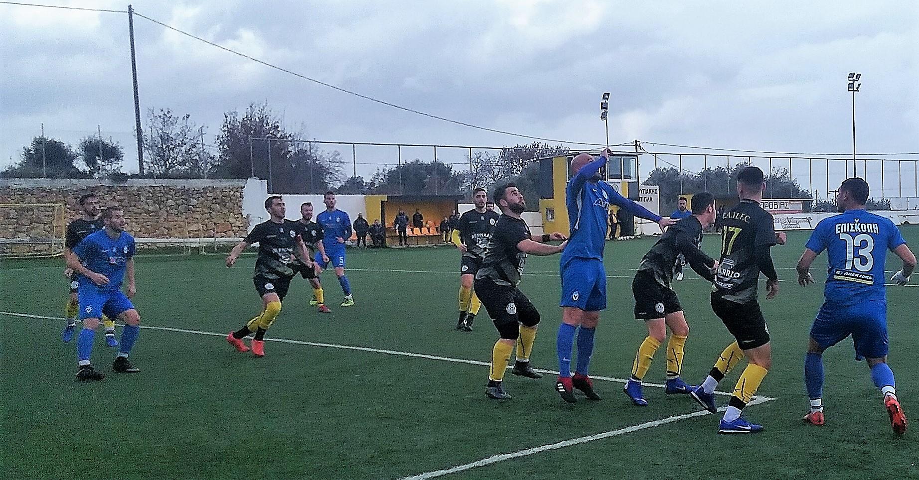 Στα ημιτελικά του κυπέλλου ΕΠΣΡ / Νίκη-πρόκριση με 0-9