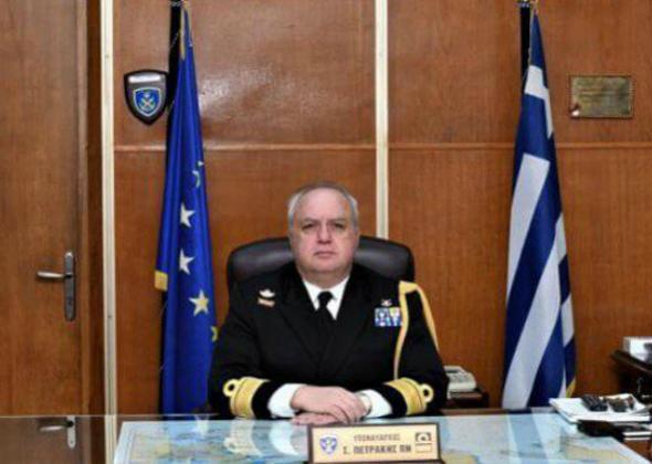 Ένας «Πισκοπιανός», ο κ. Στέλιος Πετράκης, ανέλαβε καθήκοντα αρχηγού ΓΕΝ