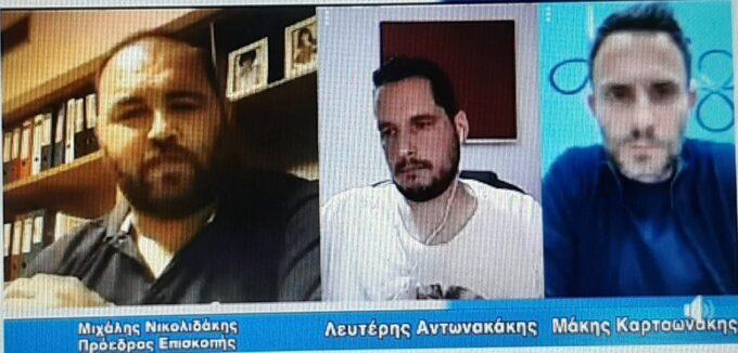 Μ. Νικολιδάκης: «Έχω τόση όρεξη - Σα να ήρθα σήμερα στον χώρο»