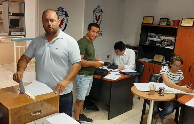 Η δύναμη της ψήφου – Πρώτος παμψηφεί ο κ. Νικολιδάκης